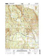 Penoyar California Current topographic map, 1:24000 scale, 7.5 X 7.5 Minute, Year 2015 from California Map Store
