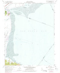 Petaluma Point California Historical topographic map, 1:24000 scale, 7.5 X 7.5 Minute, Year 1959
