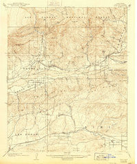 Piru California Historical topographic map, 1:62500 scale, 15 X 15 Minute, Year 1921