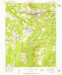 Placerville California Historical topographic map, 1:24000 scale, 7.5 X 7.5 Minute, Year 1949
