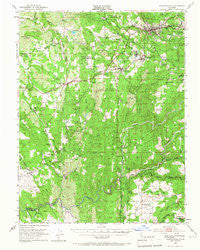 Placerville California Historical topographic map, 1:62500 scale, 15 X 15 Minute, Year 1949