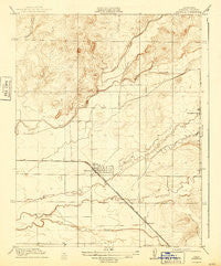 Planada California Historical topographic map, 1:31680 scale, 7.5 X 7.5 Minute, Year 1918