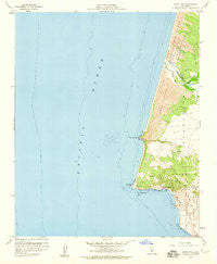 Point Sal California Historical topographic map, 1:24000 scale, 7.5 X 7.5 Minute, Year 1958