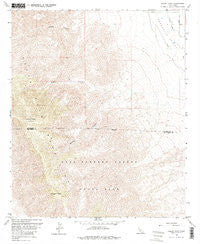 Rabbit Peak California Historical topographic map, 1:24000 scale, 7.5 X 7.5 Minute, Year 1959