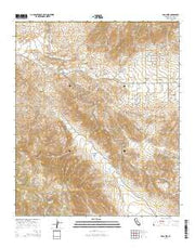Ranchita California Current topographic map, 1:24000 scale, 7.5 X 7.5 Minute, Year 2015 from California Maps Store