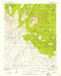 Raymond California Historical topographic map, 1:62500 scale, 15 X 15 Minute, Year 1942