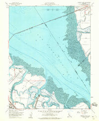 Redwood Point California Historical topographic map, 1:24000 scale, 7.5 X 7.5 Minute, Year 1959