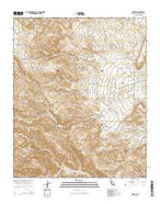 Rimrock California Current topographic map, 1:24000 scale, 7.5 X 7.5 Minute, Year 2015 from California Map Store