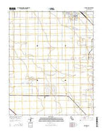 Rio Bravo California Current topographic map, 1:24000 scale, 7.5 X 7.5 Minute, Year 2015 from California Map Store