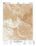 Rio Bravo Ranch California Current topographic map, 1:24000 scale, 7.5 X 7.5 Minute, Year 2015 from California Map Store