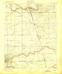 Riverbank California Historical topographic map, 1:31680 scale, 7.5 X 7.5 Minute, Year 1916