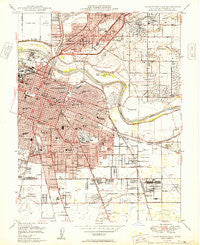 Sacramento East California Historical topographic map, 1:24000 scale, 7.5 X 7.5 Minute, Year 1949