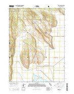 Sams Neck California Current topographic map, 1:24000 scale, 7.5 X 7.5 Minute, Year 2015 from California Map Store