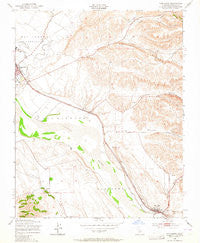 San Lucas California Historical topographic map, 1:24000 scale, 7.5 X 7.5 Minute, Year 1949