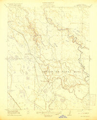 San Luis Ranch California Historical topographic map, 1:31680 scale, 7.5 X 7.5 Minute, Year 1919