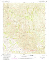 San Rafael Mtn California Historical topographic map, 1:24000 scale, 7.5 X 7.5 Minute, Year 1959