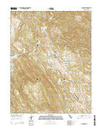 San Andreas California Current topographic map, 1:24000 scale, 7.5 X 7.5 Minute, Year 2015 from California Map Store