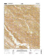 San Benito California Current topographic map, 1:24000 scale, 7.5 X 7.5 Minute, Year 2015 from California Map Store