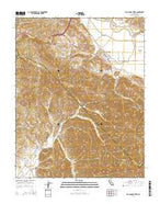 San Juan Bautista California Current topographic map, 1:24000 scale, 7.5 X 7.5 Minute, Year 2015 from California Map Store