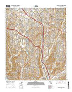 San Juan Capistrano California Current topographic map, 1:24000 scale, 7.5 X 7.5 Minute, Year 2015 from California Map Store