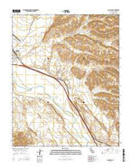 San Lucas California Current topographic map, 1:24000 scale, 7.5 X 7.5 Minute, Year 2015 from California Map Store