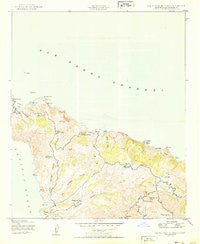 Santa Catalina North California Historical topographic map, 1:24000 scale, 7.5 X 7.5 Minute, Year 1950
