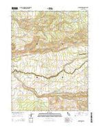 Shingletown California Current topographic map, 1:24000 scale, 7.5 X 7.5 Minute, Year 2015 from California Map Store