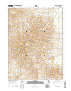 Shinn Mountain California Current topographic map, 1:24000 scale, 7.5 X 7.5 Minute, Year 2015 from California Map Store