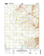 Shippee California Current topographic map, 1:24000 scale, 7.5 X 7.5 Minute, Year 2015 from California Map Store