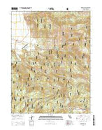 Sierraville California Current topographic map, 1:24000 scale, 7.5 X 7.5 Minute, Year 2015 from California Map Store