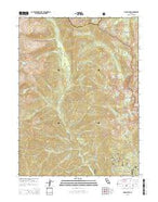 Siligo Peak California Current topographic map, 1:24000 scale, 7.5 X 7.5 Minute, Year 2015 from California Map Store