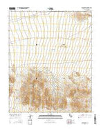 Silurian Hills California Current topographic map, 1:24000 scale, 7.5 X 7.5 Minute, Year 2015 from California Map Store