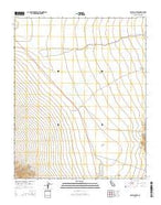 Silurian Lake California Current topographic map, 1:24000 scale, 7.5 X 7.5 Minute, Year 2015 from California Map Store