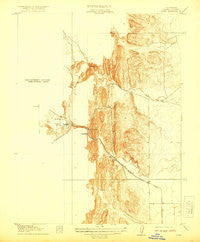 Sites California Historical topographic map, 1:31680 scale, 7.5 X 7.5 Minute, Year 1917