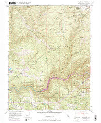 Slate Mtn California Historical topographic map, 1:24000 scale, 7.5 X 7.5 Minute, Year 1950