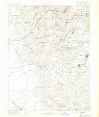 Smartsville California Historical topographic map, 1:125000 scale, 30 X 30 Minute, Year 1891