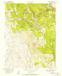 Smartville California Historical topographic map, 1:24000 scale, 7.5 X 7.5 Minute, Year 1949
