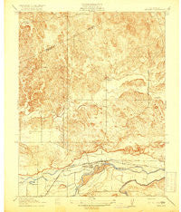 Snelling California Historical topographic map, 1:31680 scale, 7.5 X 7.5 Minute, Year 1918