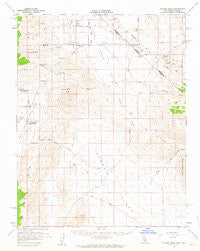 Soldier Pass California Historical topographic map, 1:62500 scale, 15 X 15 Minute, Year 1958