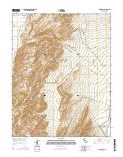 Soldier Pass California Current topographic map, 1:24000 scale, 7.5 X 7.5 Minute, Year 2015 from California Maps Store