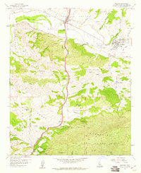 Solvang California Historical topographic map, 1:24000 scale, 7.5 X 7.5 Minute, Year 1959