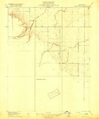 Spring Valley California Historical topographic map, 1:31680 scale, 7.5 X 7.5 Minute, Year 1918