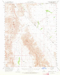 Stewart Valley California Historical topographic map, 1:62500 scale, 15 X 15 Minute, Year 1958