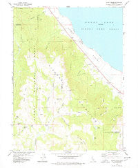 Stony Ridge California Historical topographic map, 1:24000 scale, 7.5 X 7.5 Minute, Year 1978