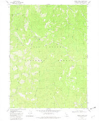 Summit Valley California Historical topographic map, 1:24000 scale, 7.5 X 7.5 Minute, Year 1981