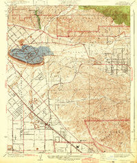 Sunland California Historical topographic map, 1:24000 scale, 7.5 X 7.5 Minute, Year 1942