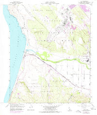 Surf California Historical topographic map, 1:24000 scale, 7.5 X 7.5 Minute, Year 1959