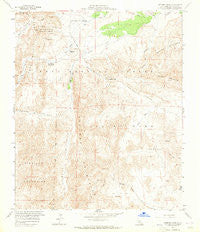 Sweeney Pass California Historical topographic map, 1:24000 scale, 7.5 X 7.5 Minute, Year 1959