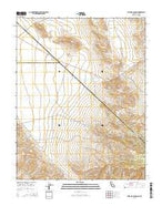 Sylvania Canyon California Current topographic map, 1:24000 scale, 7.5 X 7.5 Minute, Year 2015 from California Map Store