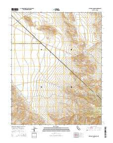 Sylvania Canyon California Current topographic map, 1:24000 scale, 7.5 X 7.5 Minute, Year 2015